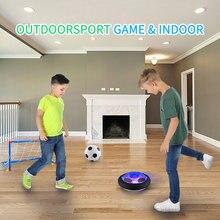 Float ar pairar bola de futebol chidren educacional ao ar livre indoor brinquedo jogos para crianças meninas bebê esporte brinquedos jogar estrela de futebol led