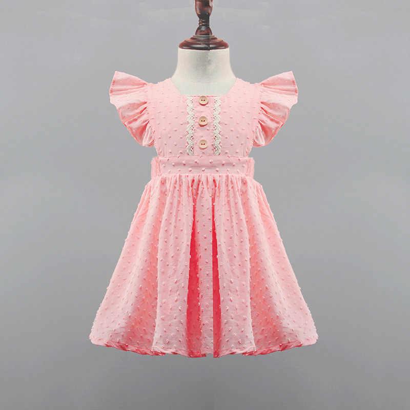 Malayu 女の赤ちゃんドレス 2020 夏新綿の花ファッション vestidos 女の赤ちゃんドレス 2-6 歳の赤ちゃん女の子服