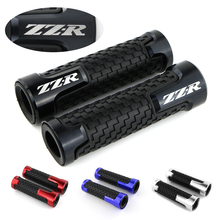 For Kawasaki ZZR400 ZZR600 ZZR1400 ZZR1200 Motorcycle CNC Aluminum and Rubber Handle Bar Grip