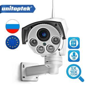 Image 1 - HD 1080P Bullet Wifi PTZ IP kamera ses 5X/10X zoom objektifi CCTV gözetim Wi Fi güvenlik kamerası 2MP açık kablosuz kamera Onvif