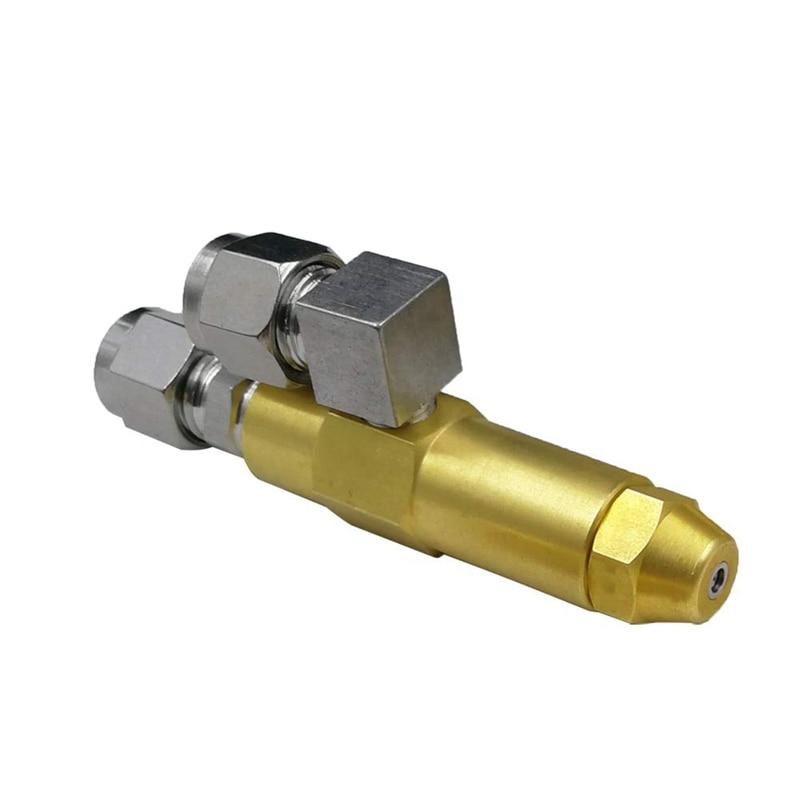 1.0mm Waste Oil Burner Nozzle,Air Atomizing Nozzle,Fuel Oil Nozzle,Full Cone Oil Spray Nozzle