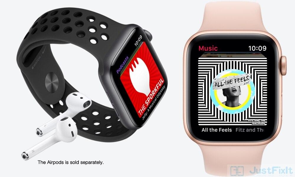 Apple assistir série 5 s5 lite alumínio sportband original 95% novo
