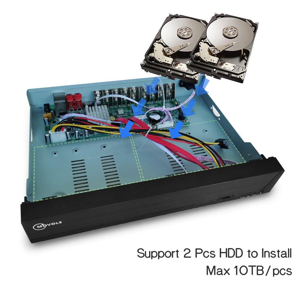 16CH录像机加HDD