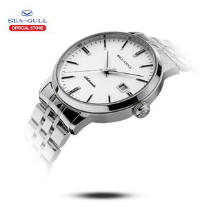 Image 2 - 2020 Seagull Mens and Womens Watches Business Automatic Mechanical Steel Band Calendar Waterproof Simple Fashion Watch 816.362