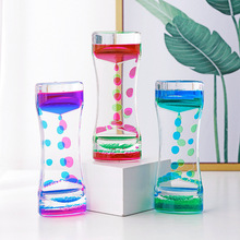 The Oil Droplets Hourglass Ornaments Child Student Room Desk Timer Students Business