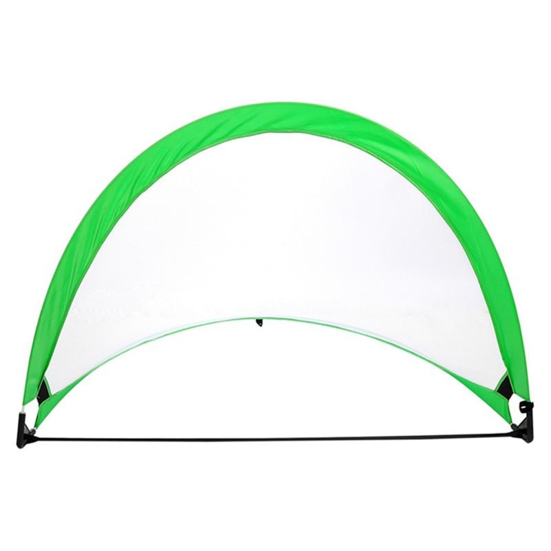 1 Piece Soccer Football Goal Net Folding Training Goal Net Tent Kids Indoor Outdoor Play Toy,Green