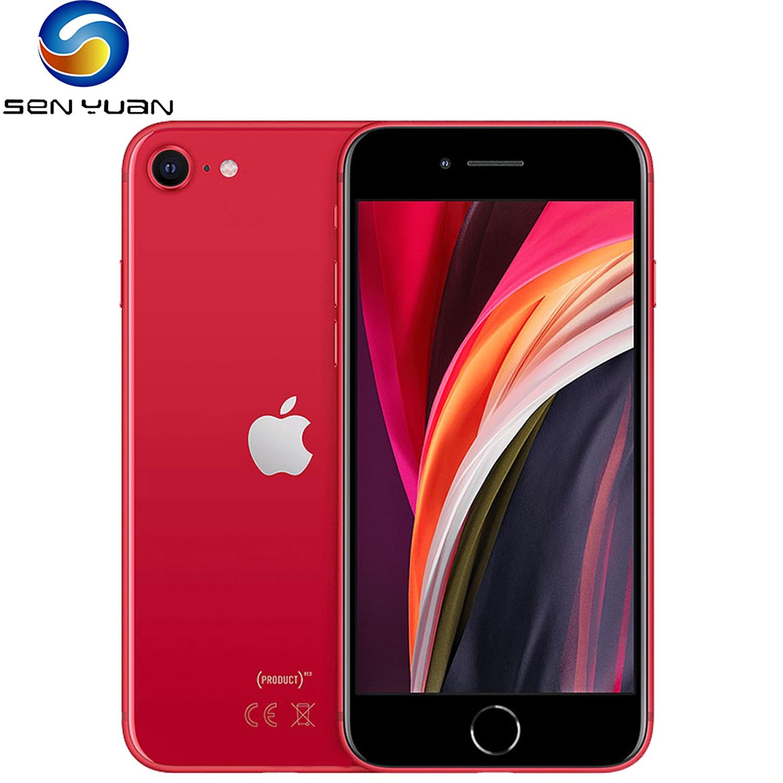 Разблокированные оригинальные смартфоны Apple iPhone SE 2020 4,7 дюйма A13 3G RAM 64/128/256 ГБ ROM шестиядерные сотовые телефоны 1821 мАч