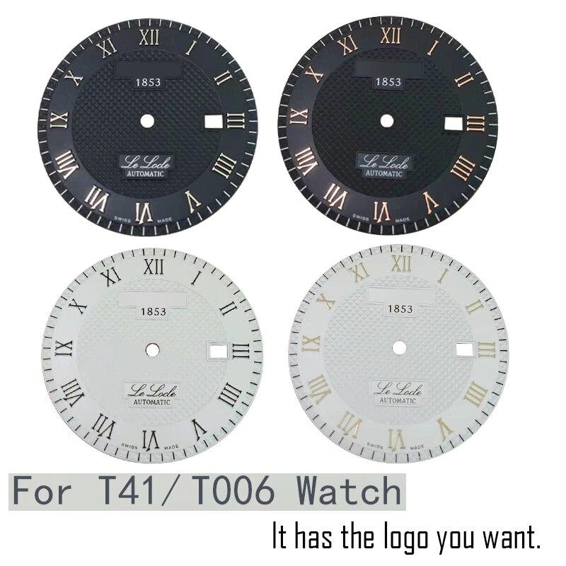 Applicable watch accessories T41 / T006407B original literal dial case hands men's mechanical watch L164 / 264