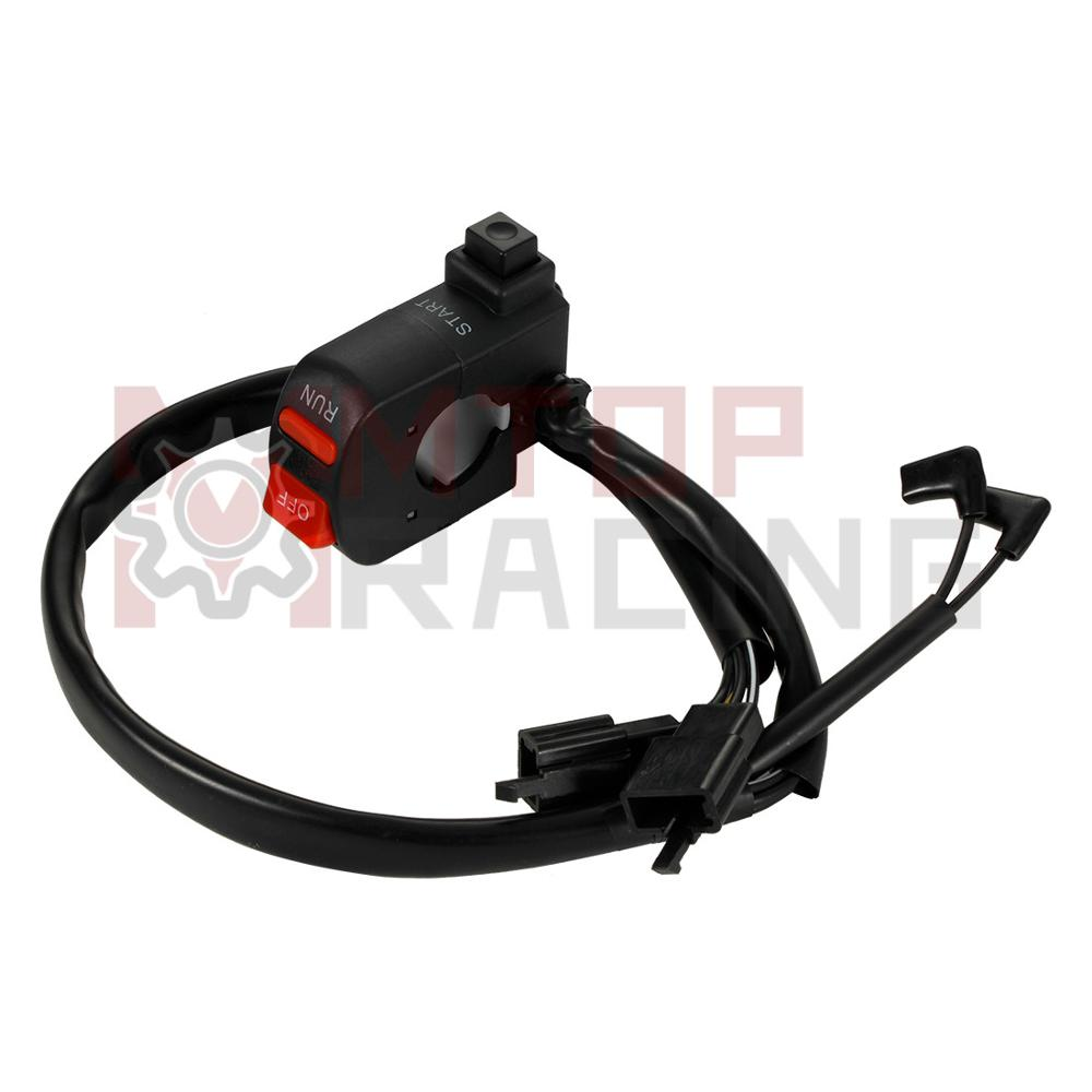 RHS Switch Block Cable Start Run OFF Control For Honda <font><b>CBR250RR</b></font> MC22 1989-1999 35130-KAZ-000 1990 1991 1992 94 95 1996 1997 1998 image