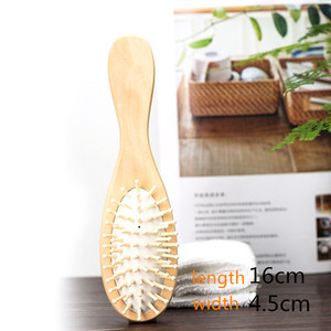 Image 5 - 1 Comb Hair Care Brush Massage Wooden Cushion Massage Comb Antistatic Spa Bamboo Airbag Hair Comb Head Promote Blood Circulation