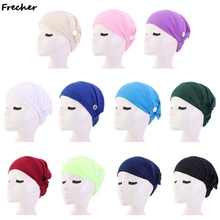 Unisex Cap Cotton Beauty Salon Lab Work Hat Scrubs Hat With Buttons Sanitary Cleaning Hats Work Caps Solid Nursing Accessories