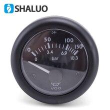 VDO измеритель давления масла Дизельный двигатель измеритель давления масла 12V24V дополнительно