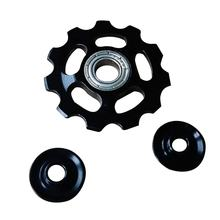 Aluminium Alloy Jockey Wheel 11T Bicycle Tension Wheel Rear Derailleur Pulley Guide Pulley Cycling Bike Accessories(China)