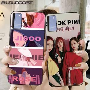 Black Pink Kpop Phone Case For Samsung Galaxy S6 7 8 9 10 20 S6 7 Edge Plus S9 10 Plus Elite S20 UITRA
