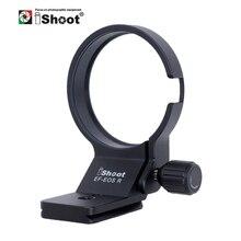 IShoot Obiettivo Piede Collare con la Macchina Fotografica Ballhead Piastra A Sgancio Rapido per Canon EF EOS R Treppiede Anello di Supporto