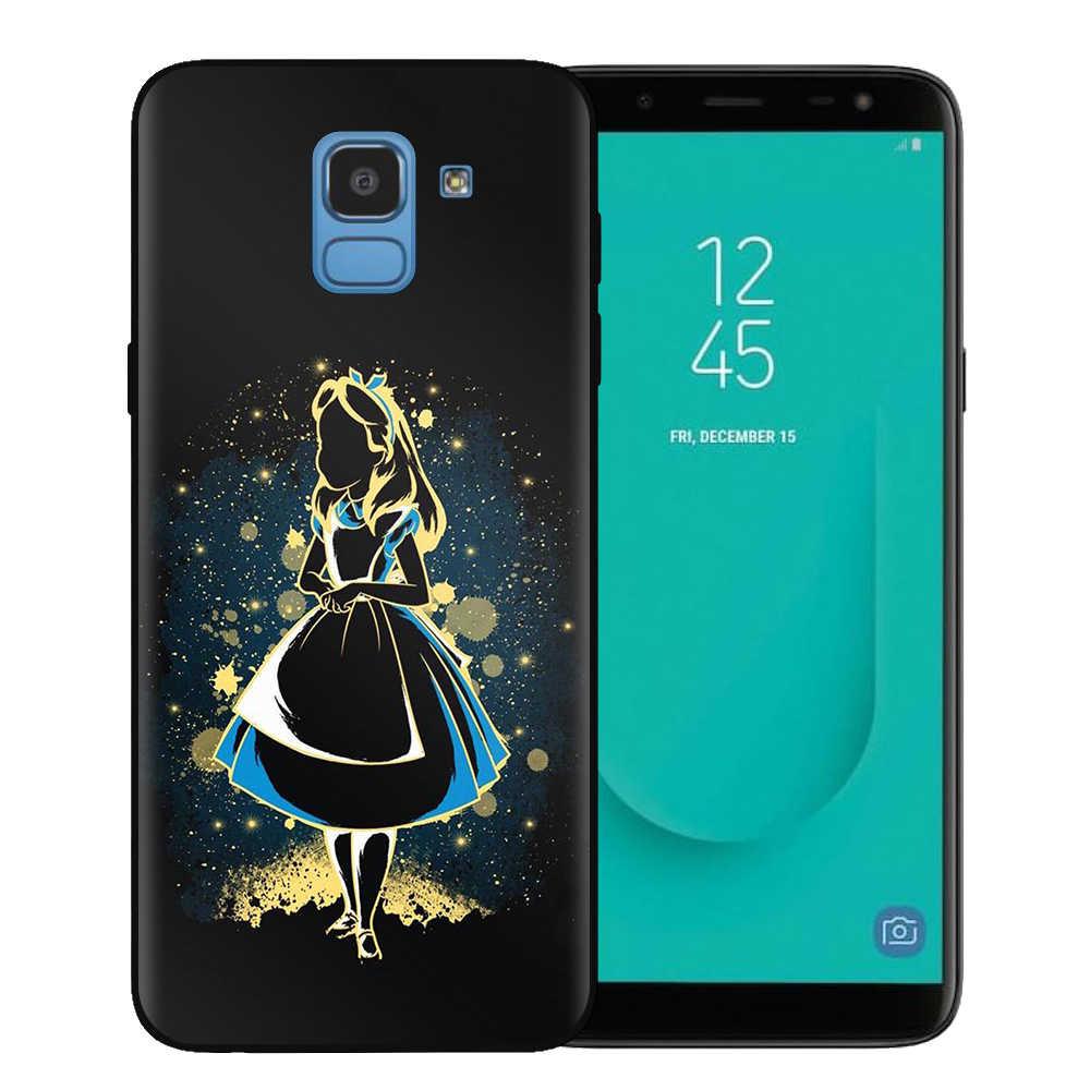 Sneeuwwitje Mermaid Prinses Alice Bambi Case Voor Fundas Samsung J3 J5 J7 2016 2017 J4 J6 Plus 2018 Note 10 Pro Cover Coque