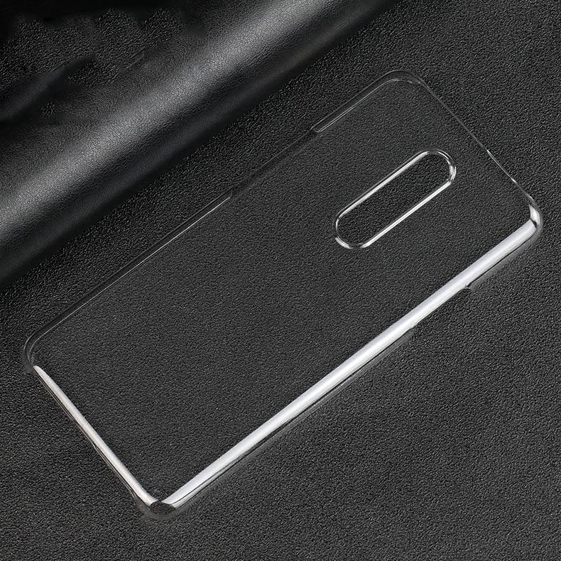 Ультра тонкий твердый пластиковый ПК прозрачный чехол для Oneplus 8t 8 Pro 7t Pro 7 Pro 6 6t чехлы для айфонов 5 5t прозрачный кристалл крышка