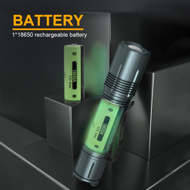 Hunting XHP50.2 High Powerful Tactical Led Flashlight Usb Rechargeable Torch Waterproof 18650 Battery Flash Light Focus XHP50 4