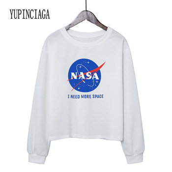 YUPINCIAGA Women's Round Neck Cropped Sweatshirt Crop Hoodies O-Neck Long Sleeve Short Pullovers Girls Teens Letter Print Hoodie crew neck crop sweatshirt