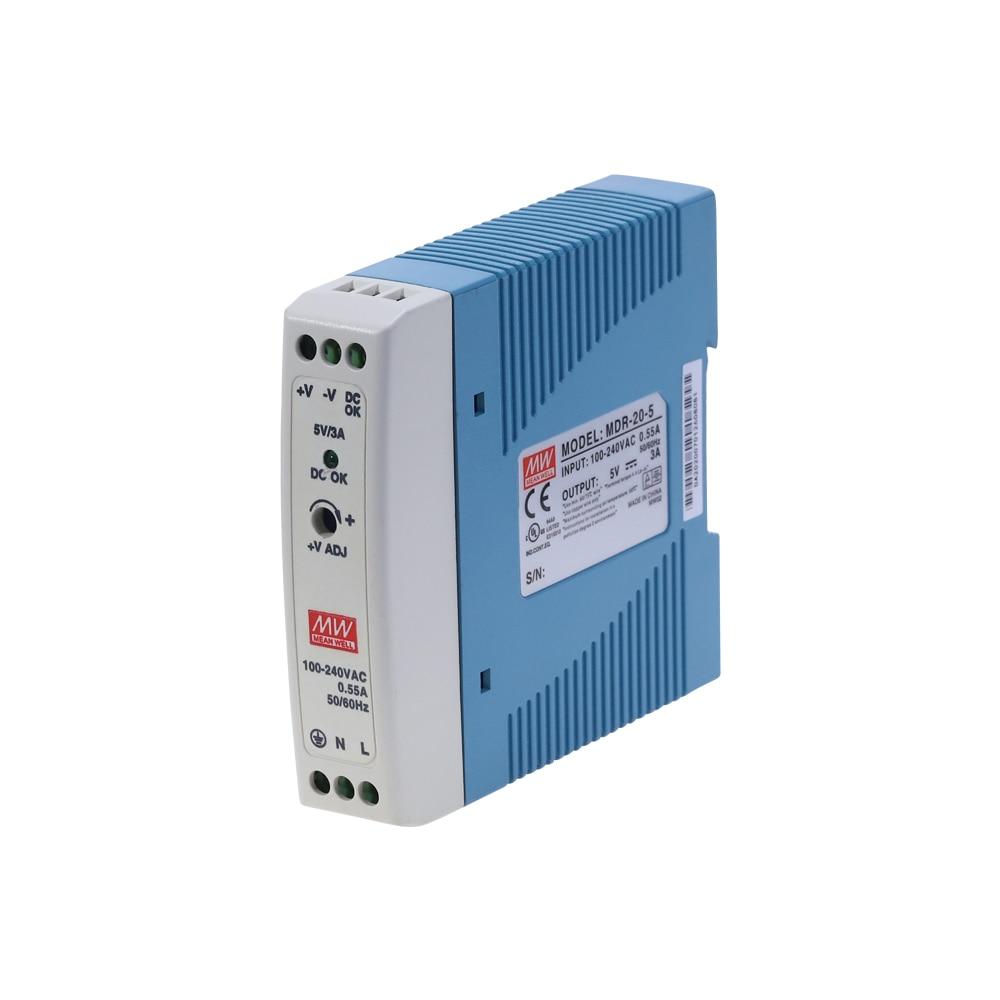 MDR-20 20W Single Output 5V 12V 15V 24V Din Rail Switching Power Supply AC/DC-0