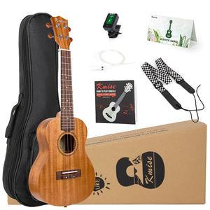 Kmise Ukulele Tuner Tenor-Kits Concert Soprano Mahogany Beginner for