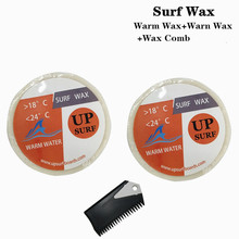 Surf wax Warm Wax+Warm +surf comb Surfboard High quality