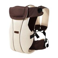 1-30 meses respirável ergonômico portador de bebê mochila sling envoltório da criança carregando bebê titular cinto canguru saco para viagens