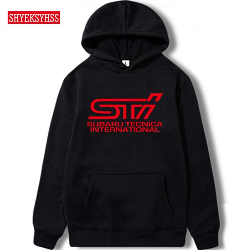 Men's Hoodies Subaru STI Logo Hoodie For WRC Race Men's Car Clothing Fashion Top Sweatshirt
