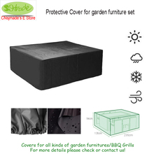 High quality ,Protective Cover for garden furniture set,235x135xH94cm,waterproofed  use Furniture cover