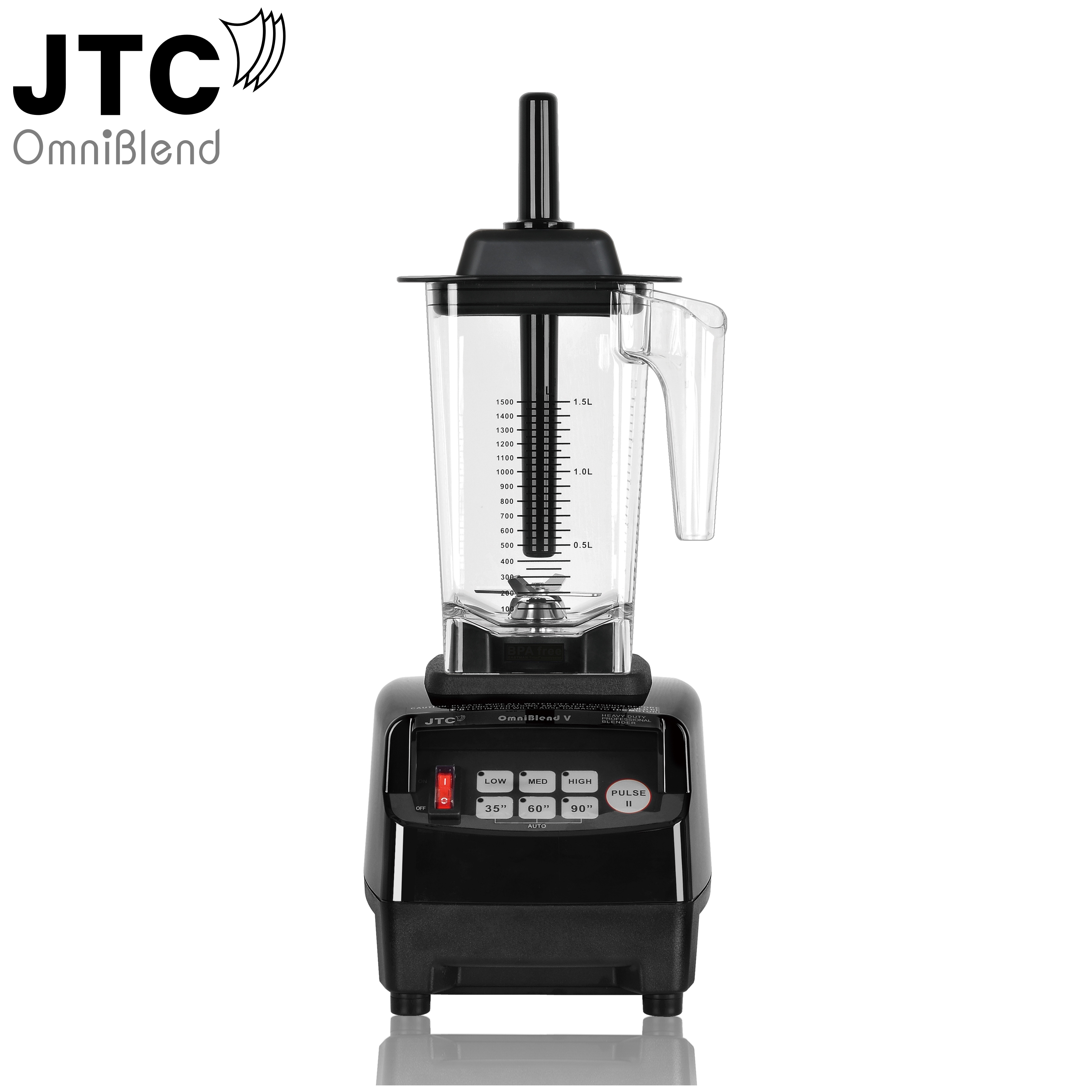 2238W Commercial blender JTC Omniblend Professional Mixer Juicer Fruit Food Processor Ice Smoothies