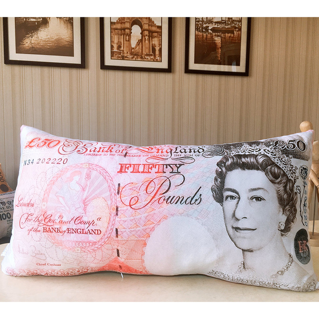 Money Plush Pillows 1