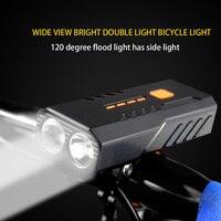 사이클링 장비 헤드 라이트 T6 LED 800LM 7W MTB 자전거 3 모드 자전거 프론트 라이트 야외 사이클 자전거 타기 엔터테인먼트