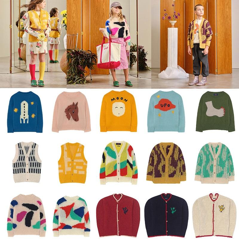 Kids Sweater TAO Brand New Autumn Winter Baby Girls Coat Jacket Christmas Sweaters Boy Cardigan Toddler Girl Winter Clothes 2021 1
