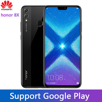 Honor 8X MobilePhone 6.5 inch Screen Android 8.2 16.0MP Front Camera Google play Multiple Language Smartphone 1