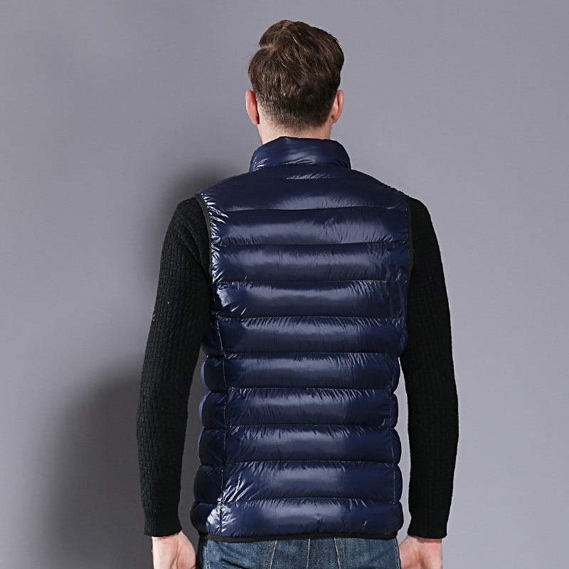 Winter Autumn AYUNSUIE Jacket Men Vest Sleeveless Jacket Waist Coat For Men Korean Plus Size Chalecos Para Hombre YY136 KJ2685