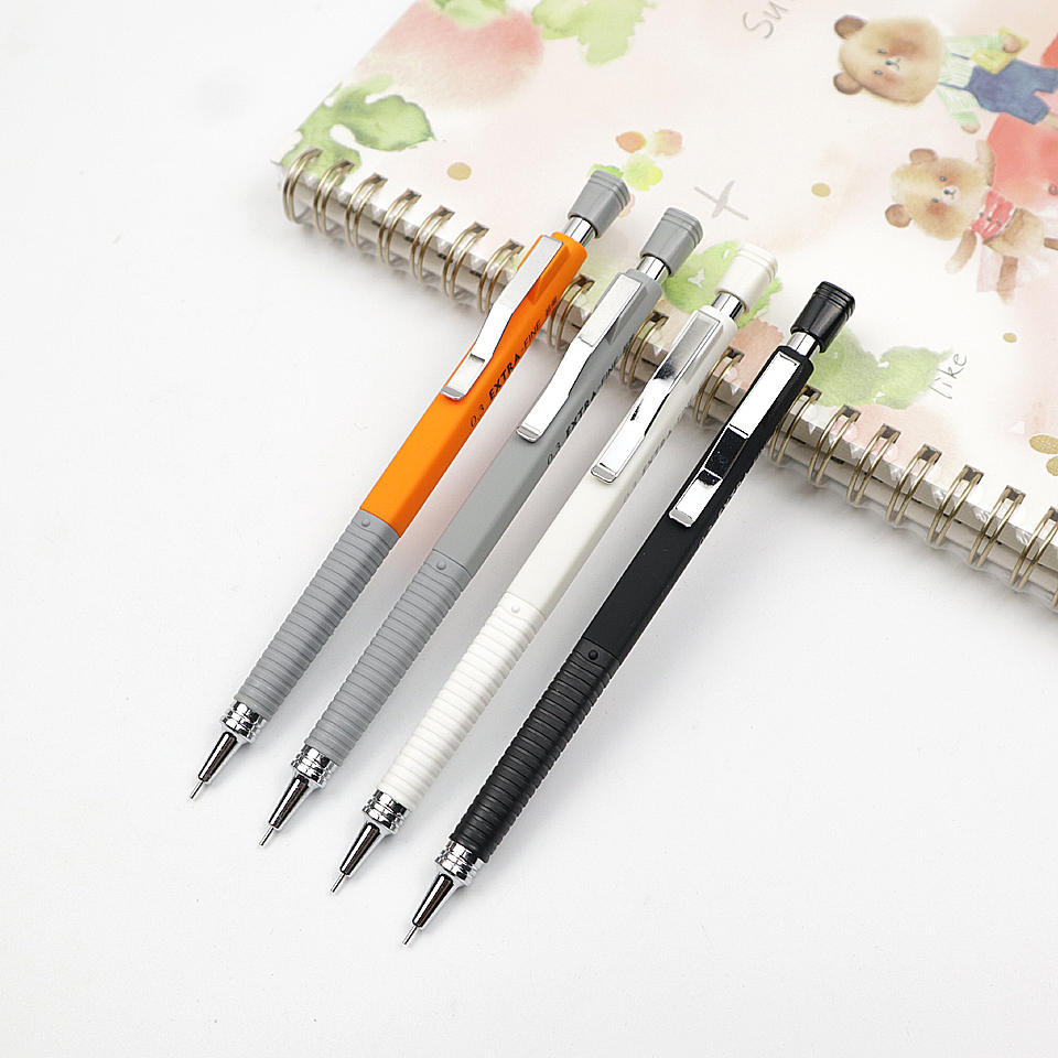 Mechanical Pencil 0.3mm Metal Nib Non-slip handle Automatic Pencil For Painting And Writing School Office Supplies 2pcs/lot
