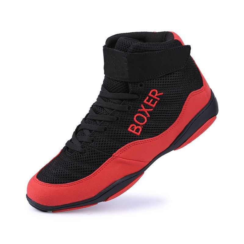 New Professional Boxing Shoes Men Big Size 35 47 Light Weight Wrestling Shoes Men High quality