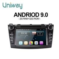 uniway LXM38090 android 8.1 car dvd for New Mazda 3 car radio navigation