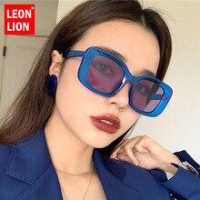 LeonLion Square Retro Sunglasses Women 2020 Vintage Eyewear Women Luxury Brand Glasses Women/Men Mirror Oculos De Sol Feminino