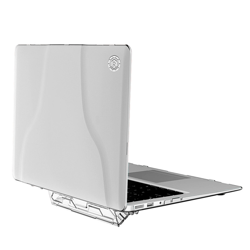Laptop Replace Cover for MacBook Air 13 Case 2019 2018 Release A1932 with Retina <font><b>Display</b></font> Handle Stand Heat Dissipation Hard Case image