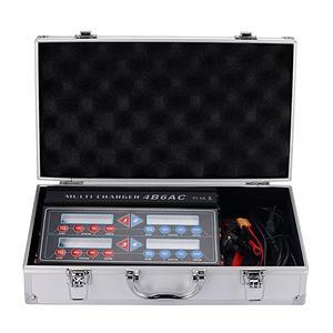 Image 5 - HTRC プロ Rc バッテリーバランス充電器 4B6AC クワトロ B6AC 6A 80 ワット * 4 放電 1 6s リポ/ライオン/寿命バッテリー充電器