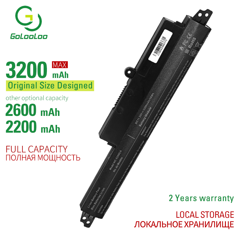 Golooloo Laptop Battery A31LMH2 A31N1302 Battery For ASUS VivoBook <font><b>X200CA</b></font> X200MA X200M X200LA F200CA 200CA 11.6