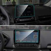 8 9 pulgadas para Ford EcoSport coche navegación GPS vidrio templado Protector de pantalla de acero película protectora accesorios interiores del coche