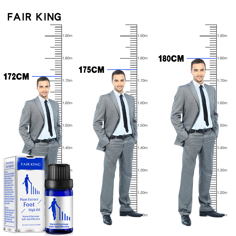 10ML New Famous Brand Height Increasing Oil Medicine Body Grow Taller Essential Oil Foot Health Care Products Promot Bone Growth
