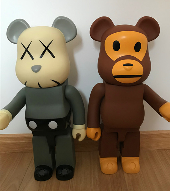 700percent 53cm  Vinyl PVC  Bear Dolls action figure Toys brick anime joker roblox 2020 new halloween decoration  wedding decoration
