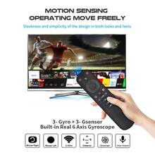 G50s sem fio voar ar mouse giroscópio 2.4g voz inteligente controle remoto para g50 x96 mini h96 max x3 pro g20s g30 android caixa de tv