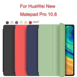 Coque en Silicone souple, 10.8 pouces, pour tablette Huawei MatePad Pro, étui 2019 avec réveil intelligent de sommeil, pour Huawei pad pro
