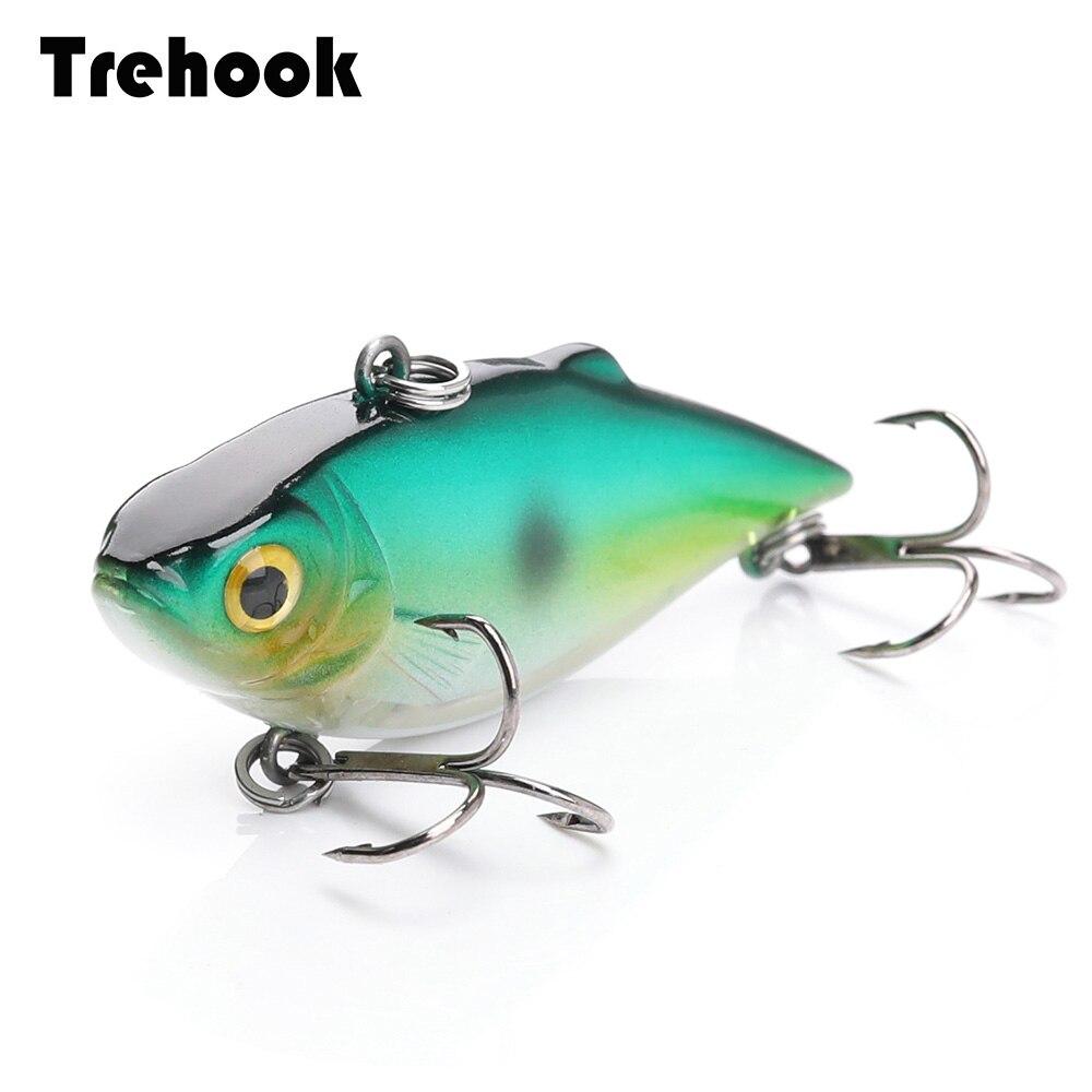 6cm 8.6g Fishing Rattlin VIB Lures Hard Crankbaits Fishing Artificial Bait Fish/Pike Sinking Wobblers Fishing Tackle Lure