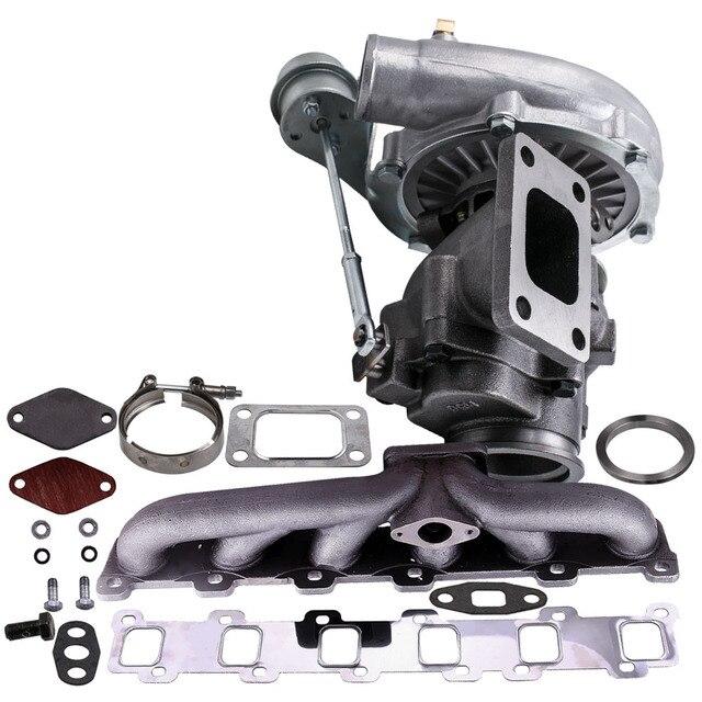 Turbo Manifold Kit for Nissan Patrol Safari GU GQ 4.2L TD TD42 TB42 T04E T3 T4 .63 A/R 44 Trim TurboCharger 400+HP Stage III