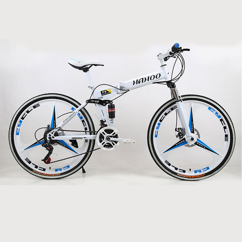 A Luxury Version Of The Cross Bike Variable Vpeed Mountain Bicycle With Dual Suspension Bicicleta 21/24/27 Speed Can Choose